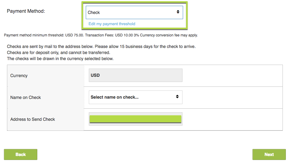 Setting Up Payment Information – Chartboost Help